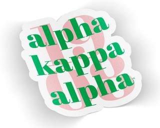 Alpha Kappa Alpha 1908 Decal