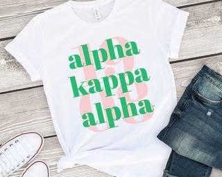 Alpha Kappa Alpha 1908 Tee