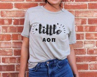 Alpha Omicron Pi Little Sister Bella T-Shirt