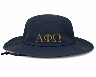 Alpha Phi Omega Greek Manta Ray Boonie Hat