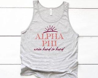 Alpha Phi Sun Tank