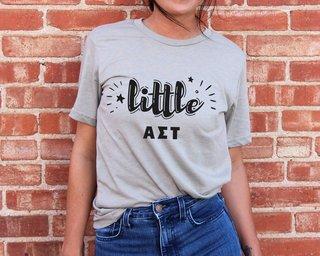 Alpha Sigma Tau Little Sister Bella T-Shirt