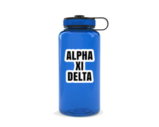 Alpha Xi Delta Simple Wide Mouth Water Bottle