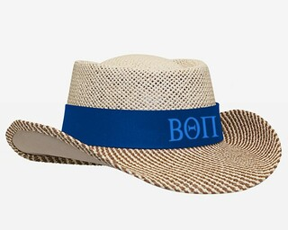 Beta Theta Pi Straw Hat