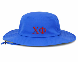 Chi Phi Greek Manta Ray Boonie Hat