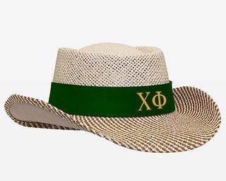 Chi Phi Straw Hat