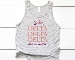 Delta Delta Delta Sun Tank
