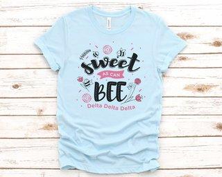Delta Delta Delta Sweet As Can Bee Tee