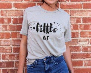 Delta Gamma Little Sister Bella T-Shirt