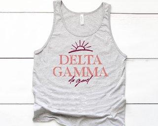 Delta Gamma Sun Tank