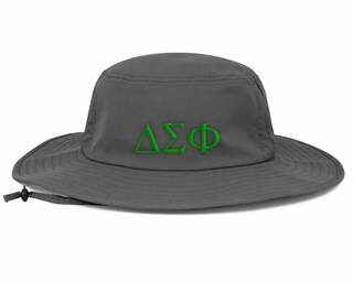 Delta Sigma Phi Greek Manta Ray Boonie Hat