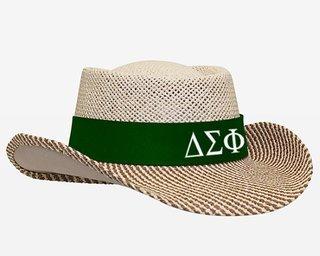 Delta Sigma Phi Straw Hat