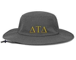Delta Tau Delta Greek Manta Ray Boonie Hat