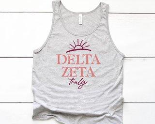 Delta Zeta Sun Tank