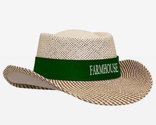 FarmHouse Fraternity Straw Hat