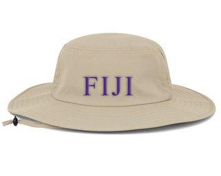FIJI Fraternity Manta Ray Boonie Hat