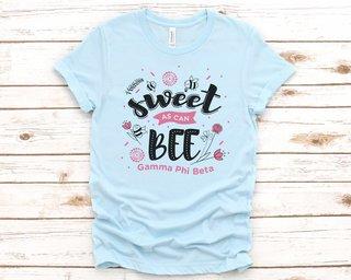 Gamma Phi Beta Sweet As Can Bee Tee