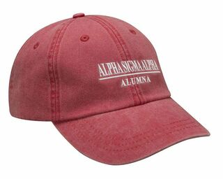 Greek Line Year Embroidered Hat
