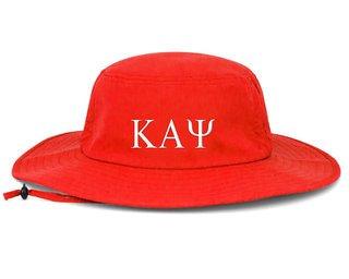 Kappa Alpha Psi Greek Manta Ray Boonie Hat