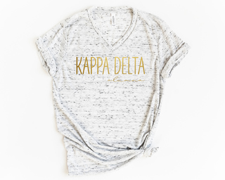 Kappa Delta Alumna Vneck Tee