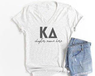 Kappa Delta Chapter V-Neck Tee