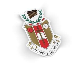 Sigma Alpha Iota Die Cut Crest Sticker