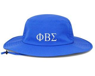 Phi Beta Sigma Greek Manta Ray Boonie Hat