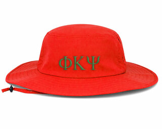 Phi Kappa Psi Greek Manta Ray Boonie Hat