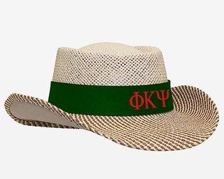 Phi Kappa Psi Straw Hat