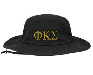 Phi Kappa Sigma Greek Manta Ray Boonie Hat