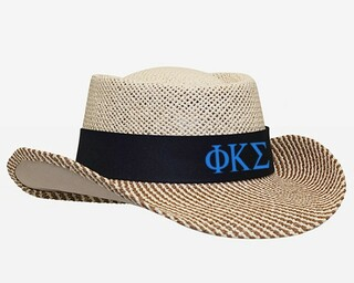 Phi Kappa Sigma Straw Hat