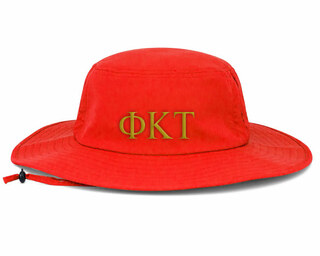 Phi Kappa Tau Greek Manta Ray Boonie Hat