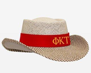 Phi Kappa Tau Straw Hat