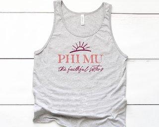 Phi Mu Sun Tank