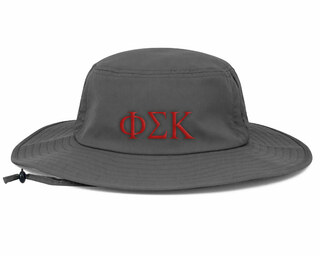 Phi Sigma Kappa Greek Manta Ray Boonie Hat