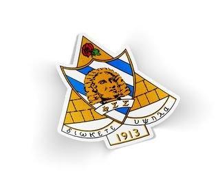 Phi Sigma Sigma Die Cut Crest Sticker