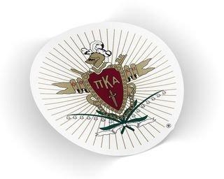 Pi Kappa Alpha Die Cut Crest Sticker