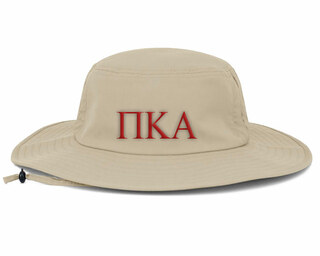 Pi Kappa Alpha Greek Manta Ray Boonie Hat