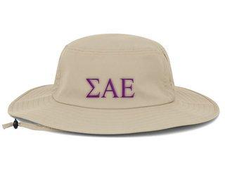 Sigma Alpha Epsilon Greek Manta Ray Boonie Hat