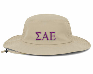 Sigma Alpha Epsilon Greek Manta Ray Boonie Hat