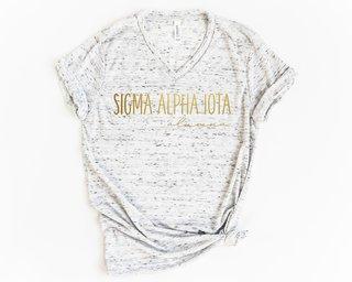Sigma Alpha Iota Alumna Vneck Tee