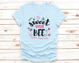 Sigma Alpha Iota Sweet As Can Bee Tee