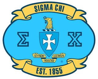 Sigma Chi Banner Crest - Shield Decal