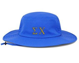 Sigma Chi Greek Manta Ray Boonie Hat
