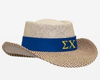 Sigma Chi Straw Hat