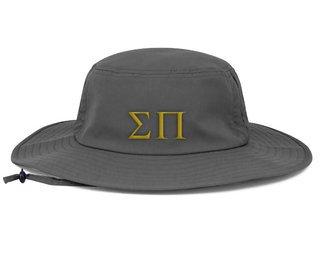 Sigma Pi Greek Manta Ray Boonie Hat