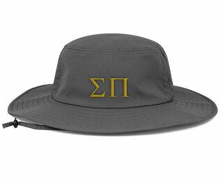Sigma Pi Greek Manta Ray Boonie Hat