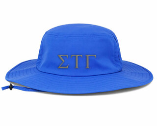 Sigma Tau Gamma Greek Manta Ray Boonie Hat