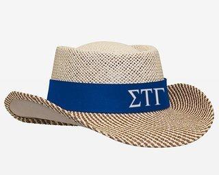 Sigma Tau Gamma Straw Hat