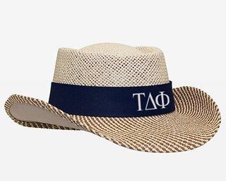 Tau Delta Phi Straw Hat